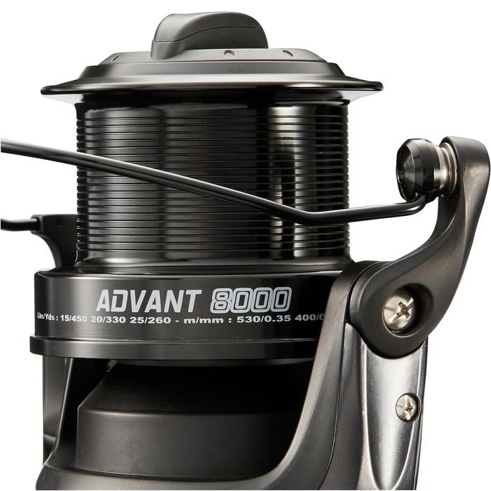 MOULINET PÊCHE EN SURFCASTING ADVANT POWER 8000 BLACK