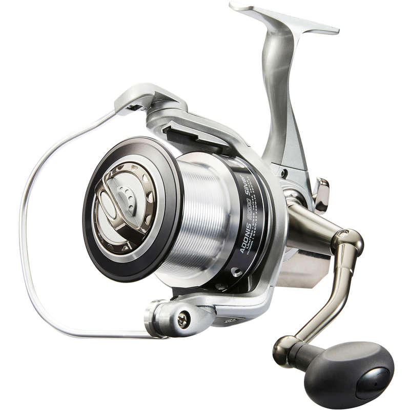 SURFCASTING REELS Fishing - ADONIS 5000 SILVER REEL CAPERLAN - Fishing Equipment and Tackle