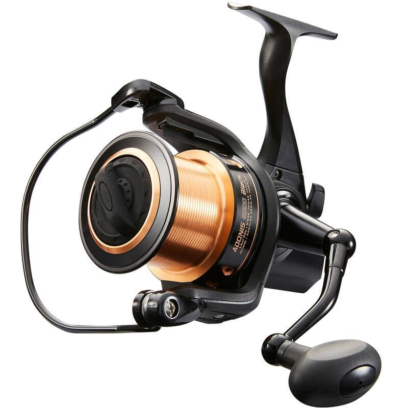 CARP COMBOS, RODS, REELS Fishing - ADONIS 5000 REEL BLACK CAPERLAN - Fishing Equipment and Tackle