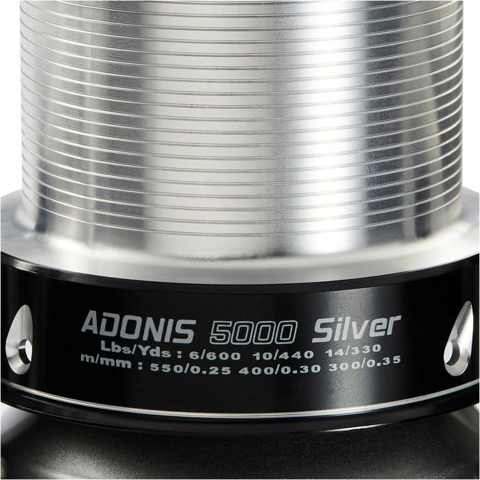 Adonis 5000 silber Longcastrolle