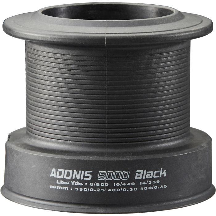 MOULINET PÊCHE DE LA CARPE ADONIS 5000 BLACK - 1281259