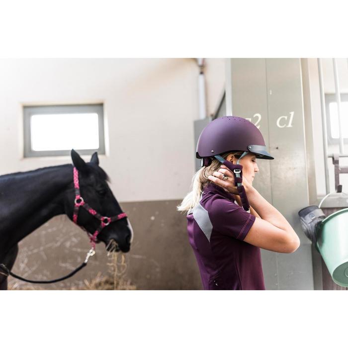 Polo manches courtes équitation femme TRAINING MESH - 1281283