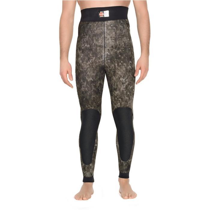 Pantalon combinaison de chasse sous-marine camo Tracina 5 mm - 1281315