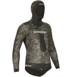 Veste combinaison de chasse sous-marine camouflage TRACINA 5mm