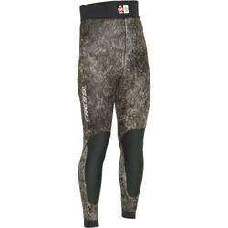Pantalon combinaison de chasse sous-marine camo Tracina 5 mm