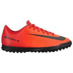 Chaussure de football enfant Mercurial X Vortex TF rouge