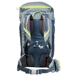 Wanderrucksack Bergwandern MH100 40 Liter grau