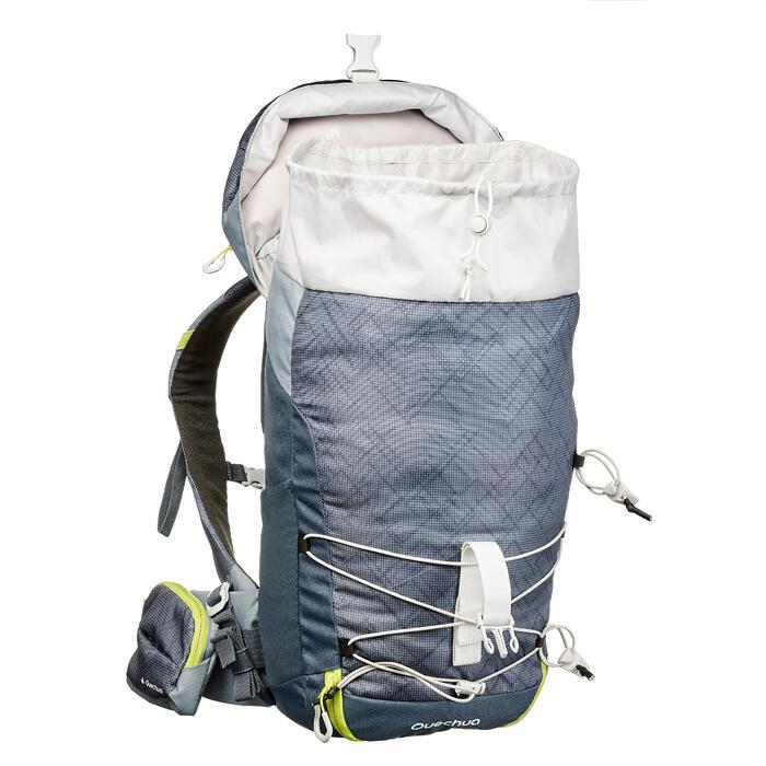 Wandelrugzak voor in de bergen MH100 20 liter grijs