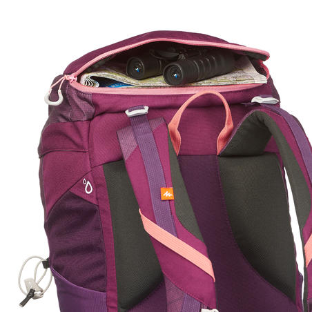 MH100 30-L Mountain Walking Backpack – Purple/Pink