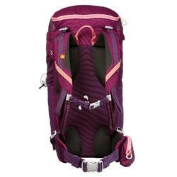 Rucksack Bergwandern MH100 30 Liter violett