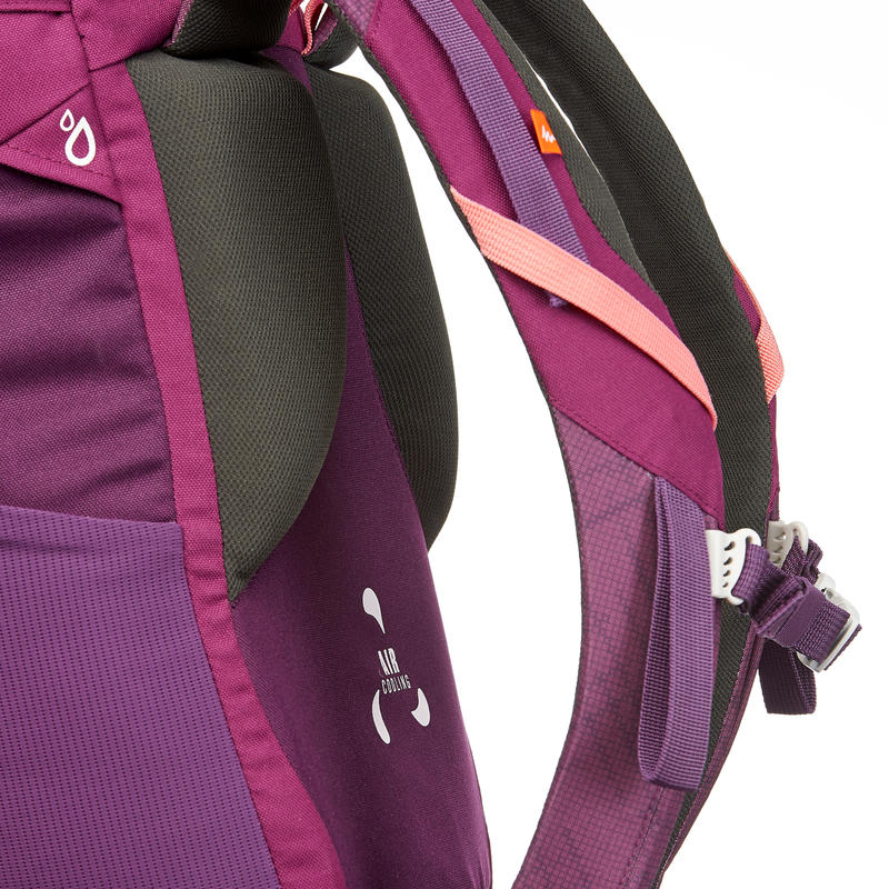 Hiking Backpack 30L MH100 - Purple/Pink