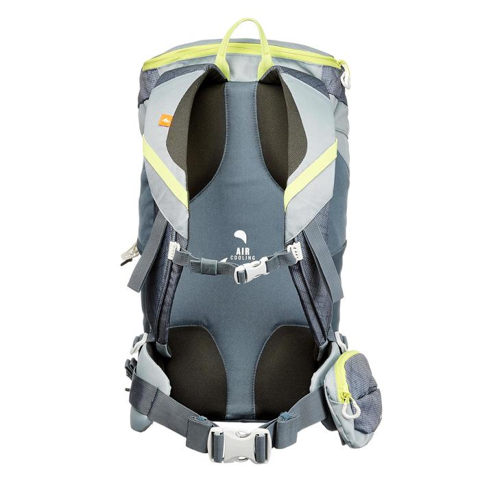 Wanderrucksack Bergwandern MH100 20 Liter graublau