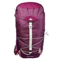 Wandelrugzak voor bergtochten MH100 30 liter paars roze