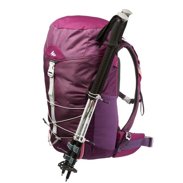 Wandelrugzak MH100 30 liter paars roze