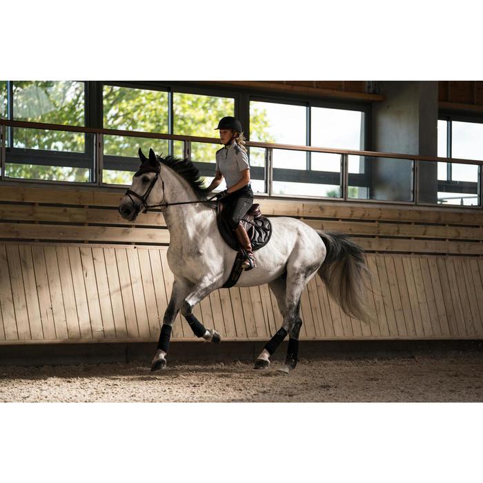 Paardrijcap C900 Sport zwart/bruin