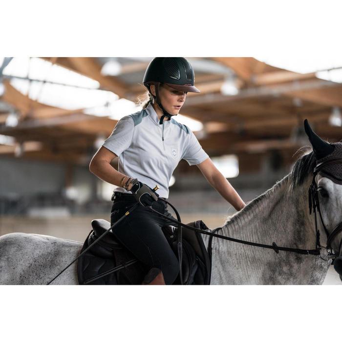 Gants équitation adulte PRO'LEATHER marron