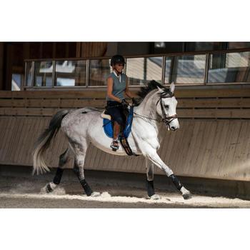 Tapis de selle équitation cheval et poney 580 bleu électrique