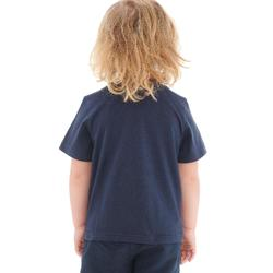 CAMISETA de senderismo niño Hike 500 Azul marino