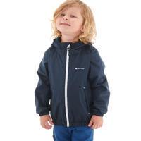 Veste imperméable de randonnée enfant MH500 Enfant bleue marine