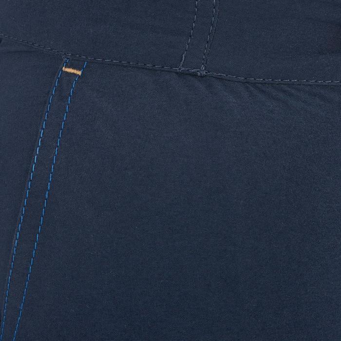 Wandelshort Hike 100 voor kinderen marineblauw