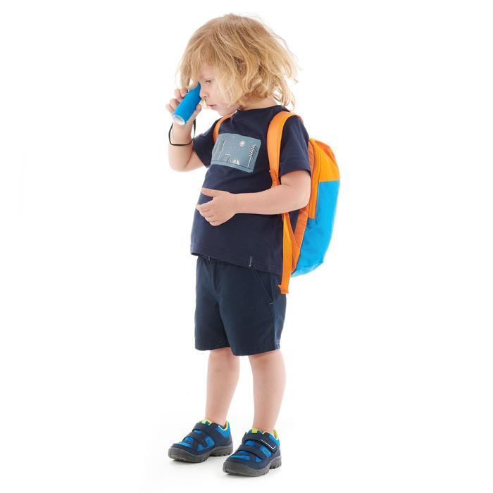 Wandershirt Bergwandern MH100 Kinder marineblau