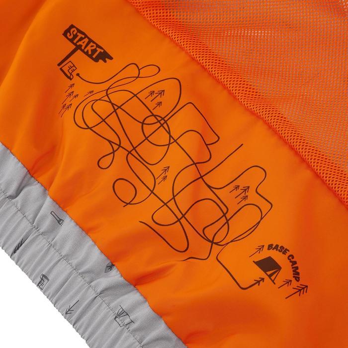 Hike 500 Children's Boy's Waterproof Hiking Jacket – Blue Print - 1282298