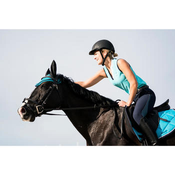 Fliegenhaube Riding türkis