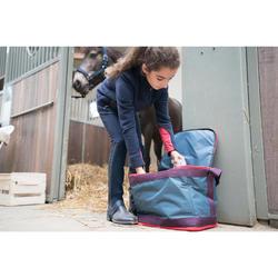 Reit-Chaps 140 Mesh Kinder marineblau/grau