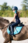 SOTTOSELLA Equitazione - Sottosella 540 turchese FOUGANZA - Attrezzatura cavallo
