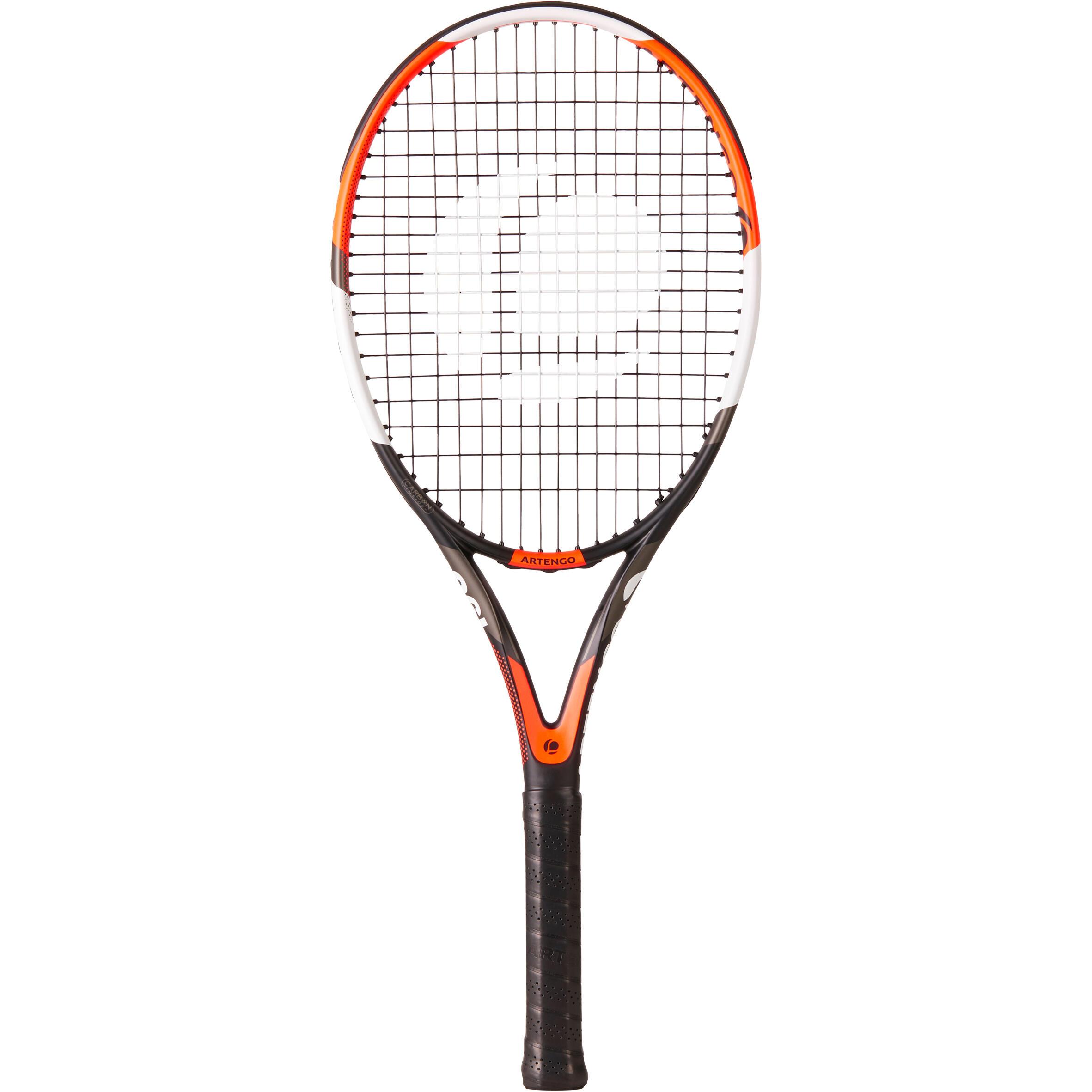 Artengo Tennisracket voor volwassenen TR190 Power oranje/zwart