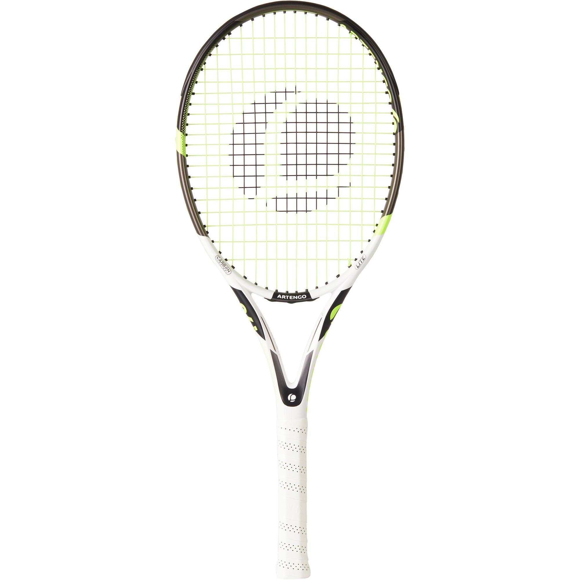 Raquette de tennis adulte tr190 lite blanc artengo