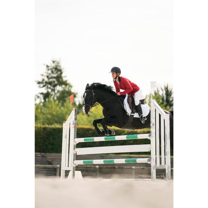 Veste de Concours équitation femme COMP100 bleu roi - 1282512