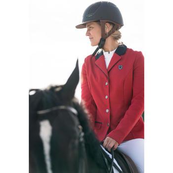 Veste de Concours équitation femme COMP100 bleu roi - 1282518