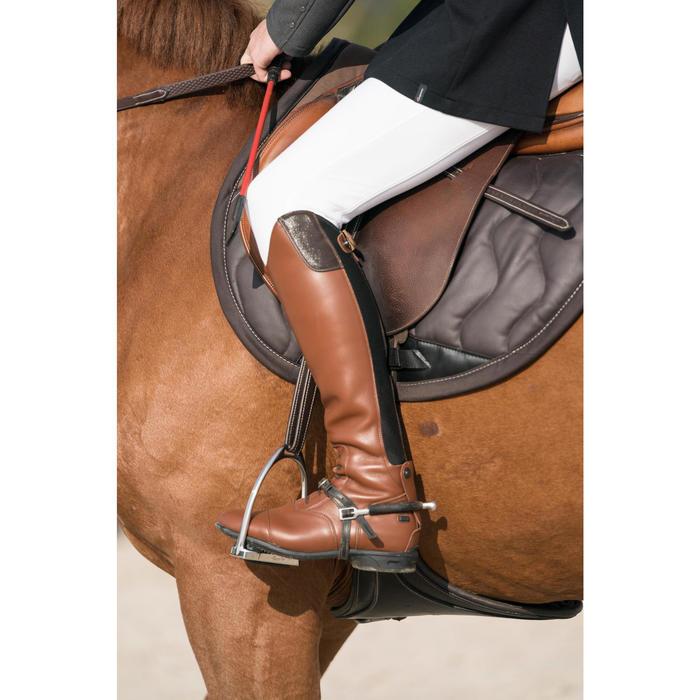 Bottes cuir équitation adulte LB 900 - 1282519