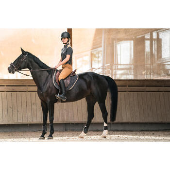 Schabracke VS 580 Pony/Pferd grau/camel