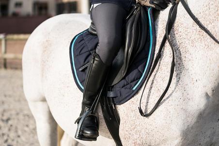 Sarung Pelana Berkuda 580 untuk Kuda dan Poni - Biru Navy