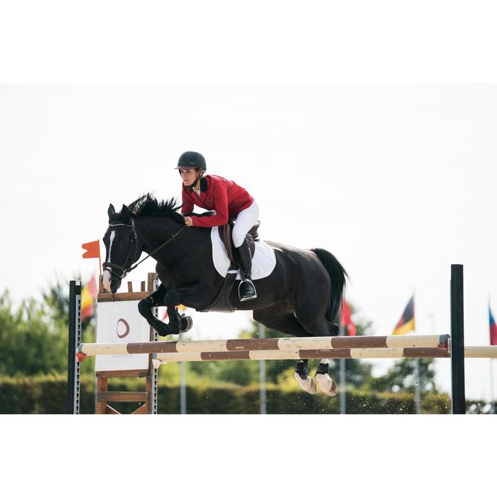 Veste de Concours équitation femme COMP100 bleu roi - 1282574