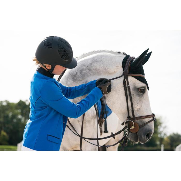 Veste de Concours équitation femme COMP100 bleu roi - 1282575