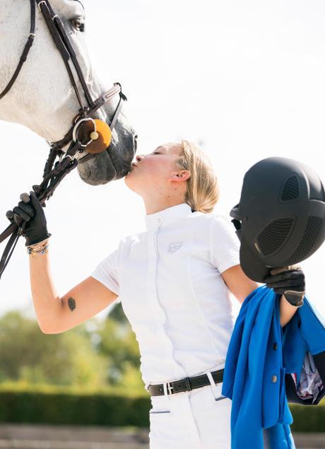 je paardrijwedstrijd voorbereiden
