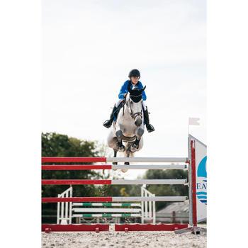 Veste de Concours équitation femme COMP100 bleu roi - 1282585