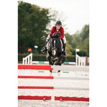 Veste de Concours équitation femme COMP100 bleu roi - 1282592