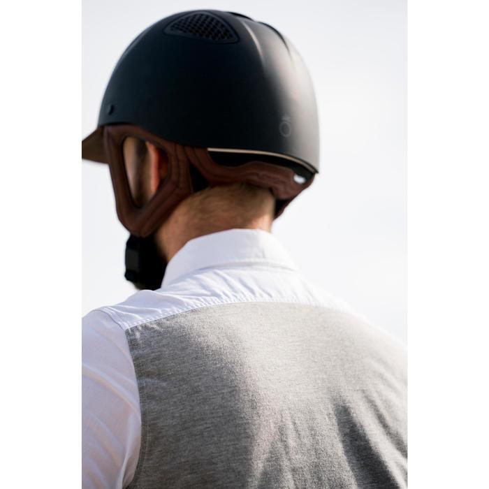 Casco Equitación Fouganza C900 Sport Negro / Marrón