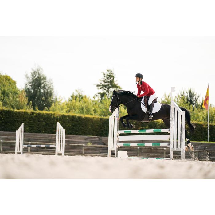 Veste de Concours équitation femme COMP100 bleu roi - 1282612