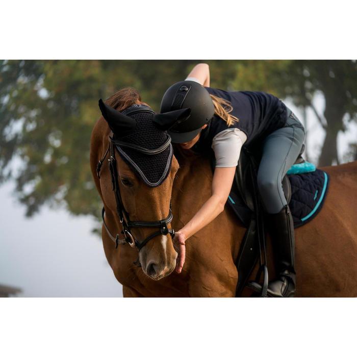 Oornetje Riding ruitersport paard marineblauw