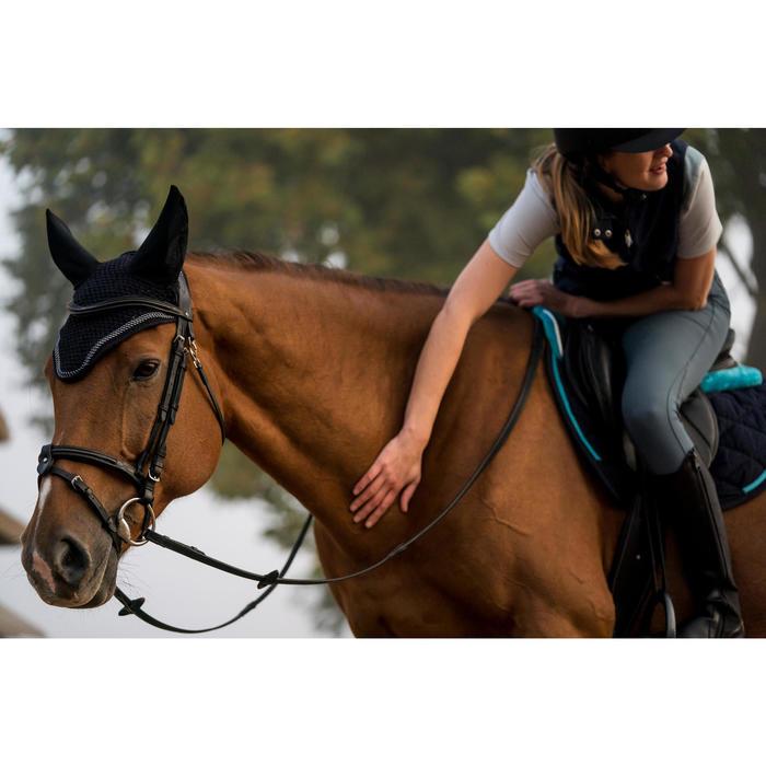 Orejeras equitación caballo RIDING azul marino