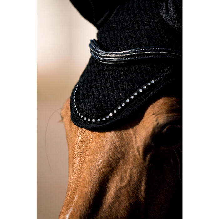 Bonnet équitation cheval RIDING STRASS noir - 1282650