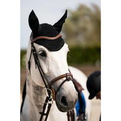 Fliegenhaube Riding Pferd schwarz