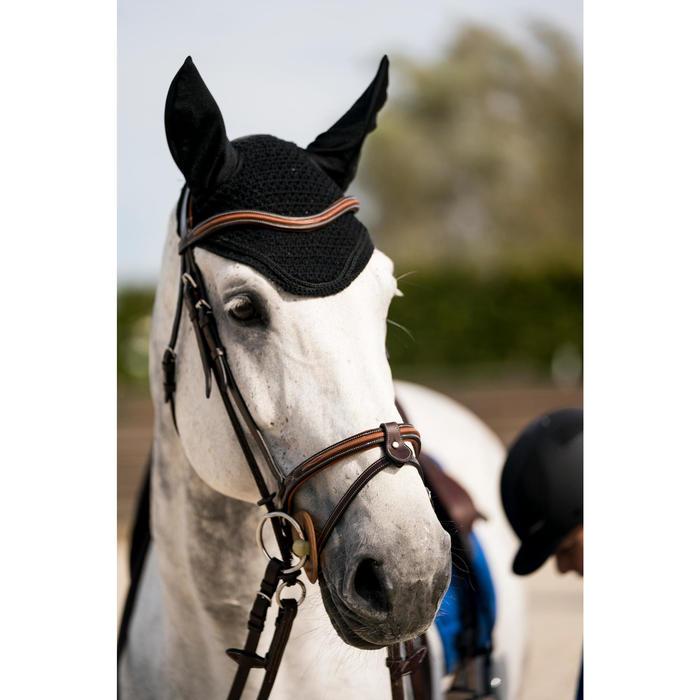 Orejeras equitación caballo RIDING negro