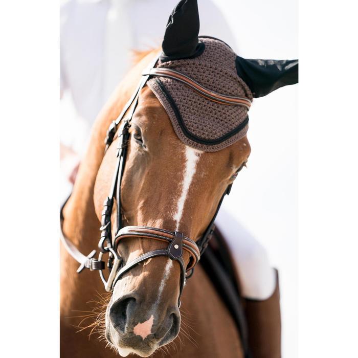Bonnet équitation cheval RIDING marron