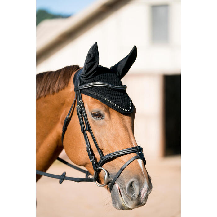 Bonnet équitation cheval RIDING STRASS noir - 1282663